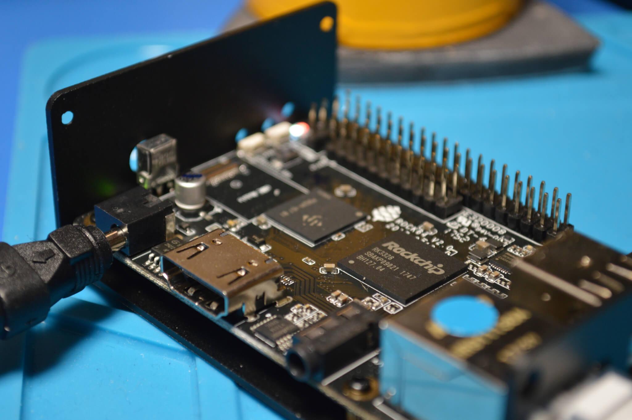 Arduino met randapparatuur